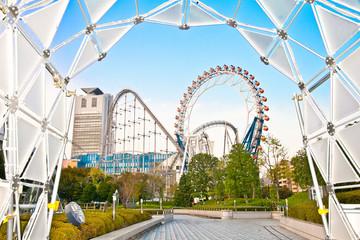 Tokyo Dome complex in Bunkyo, Tokyo, Japan.