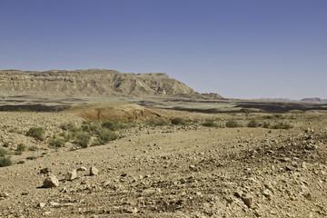 Desert mountain.