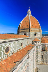 Florence Cathedral, Brunelleschi's dome, Italy