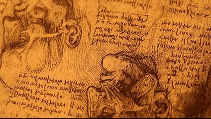 14th centuryanatomyart by Leonardo Da Vinci