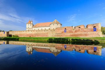Famous medieval fortress,Fagaras,Tran sylvania,Romania