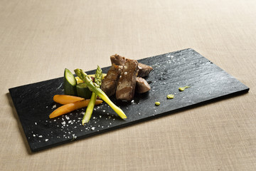 Meat with vegetables 2