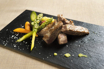 Meat with vegetables 1