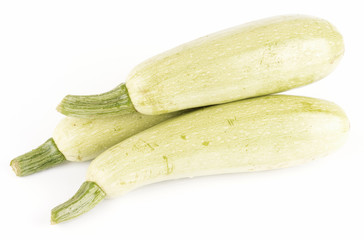 vegetable marrows isolated