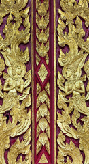 Wood carving of Thailand