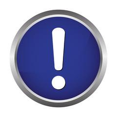 attention danger button
