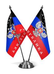 Donetsk People's Republic - Miniature Flags.