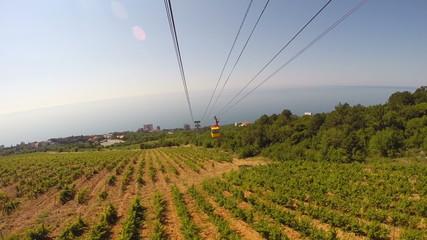 Cableway in Crimea