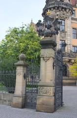 Tor am Residenzschloß-II-Dresden