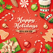 Holiday Decorations Card - 73118594