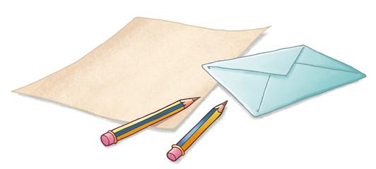 carta con sobre