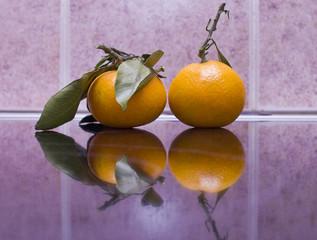 Tangerines. Мандарины.