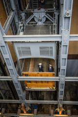 Aufzuganlage Alter Elbtunnel Hamburg