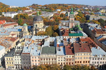 Lviv old town, Ukraine
