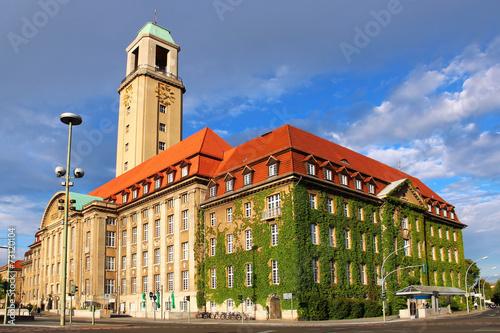 Spoed canvasdoek 2cm dik Berlijn Spandau Town Hall, Berlin, Germany