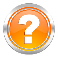 question mark icon, ask sign