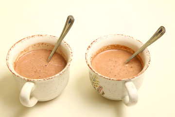 tazas chocolate
