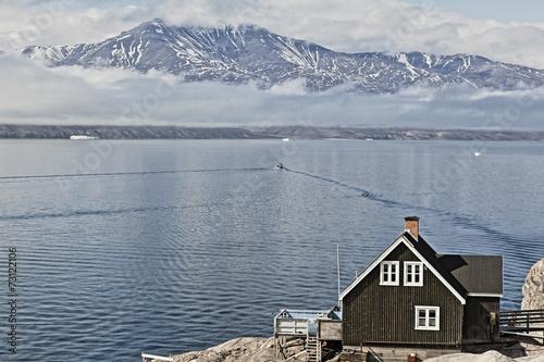 Fotobehang Antarctica 2 Uummannaq fjord.