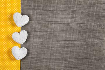 Glückwunschkarte gelb: Ostern, Valentin, Muttertag, Geburtstag