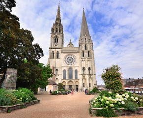 The Cathedral of Chartres, France