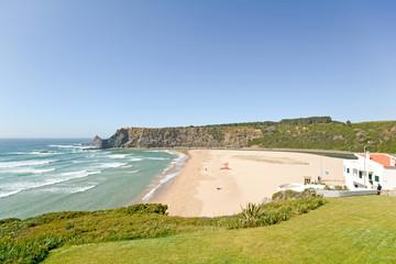 Praia de Odeceixe, West Coast Beach, Algarve Portugal