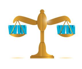 win win balance illustration design