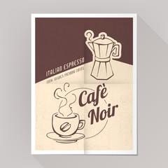 Coffee espresso poster