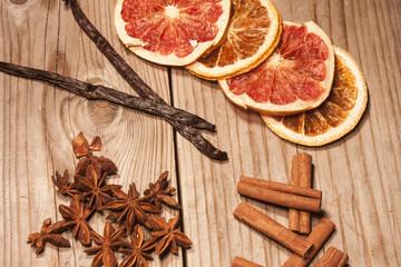 Dry fruits and season