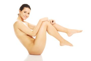 Beautiful nude woman's body