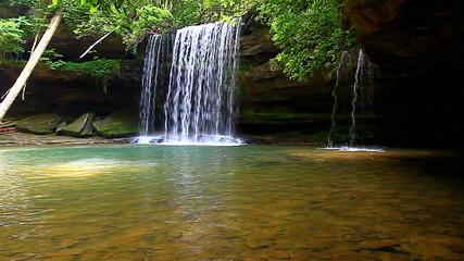 Upper Caney Creek Falls Alabama
