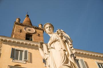 Roma, santa Maria del Popolo (part.)