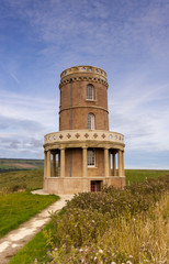 Clavell Tower on the Dorset Coastline