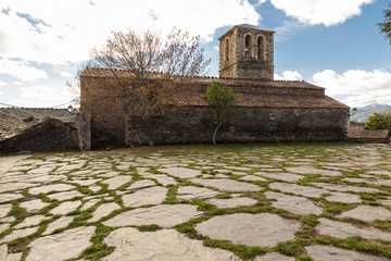 Church in a village in Castilla la Mancha, Spain
