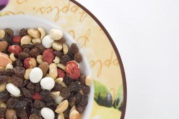 Mixed Nutsin a Dish