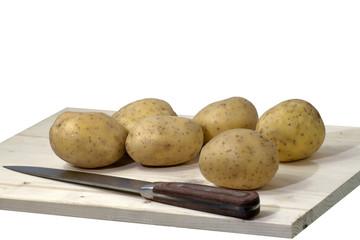 Kartoffeln freigestellt