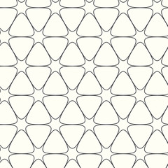 vector seamless pattern lines background