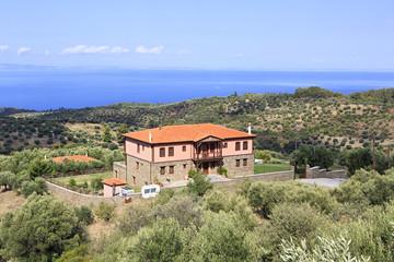 Homestead on the Aegean coast.
