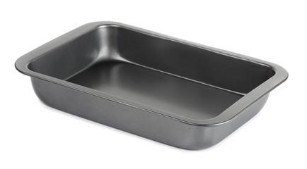 Empty metal baking tray