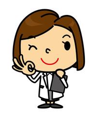 SD女性 医者