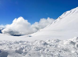 neige et nuages
