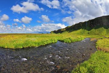 Warm days in Iceland