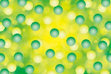 背景素材壁紙(球体多数と淡い光彩)
