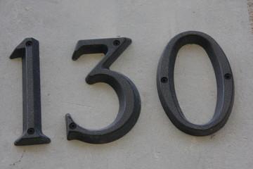 Number 130