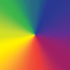 Rainbow Conical Gradient 01