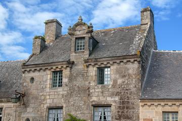 Devanture ancienne, Locronan, Finistère, Bretagne
