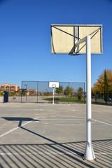 cancha deportiva en la calle