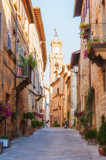 Fototapety The old town and the streets of the medieval period Pienza, Ital