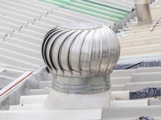 A roof ventilator.