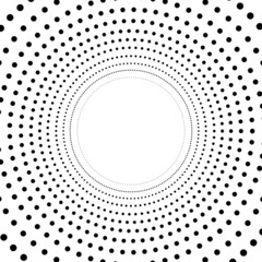 Hypnotic Concentric Points
