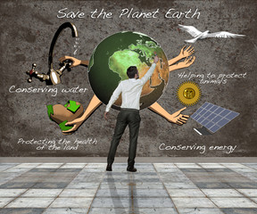 save the planet earth